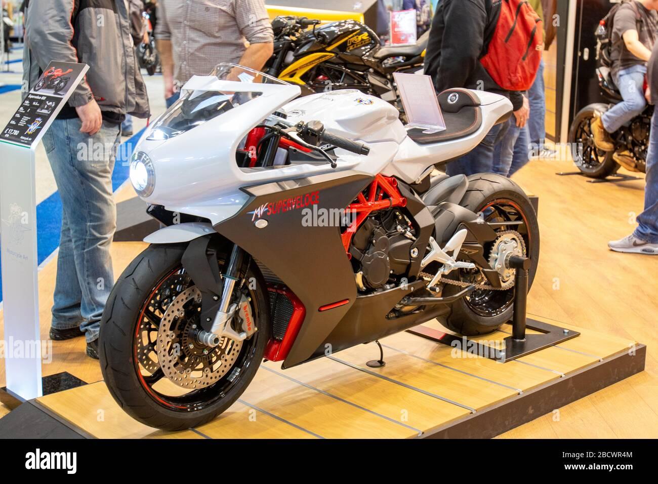 MV Agusta Superveloce 800 Banque D'Images