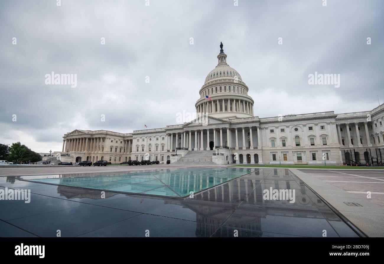 Le Capitole des États-Unis à Washington DC, États-Unis d'Amérique Banque D'Images
