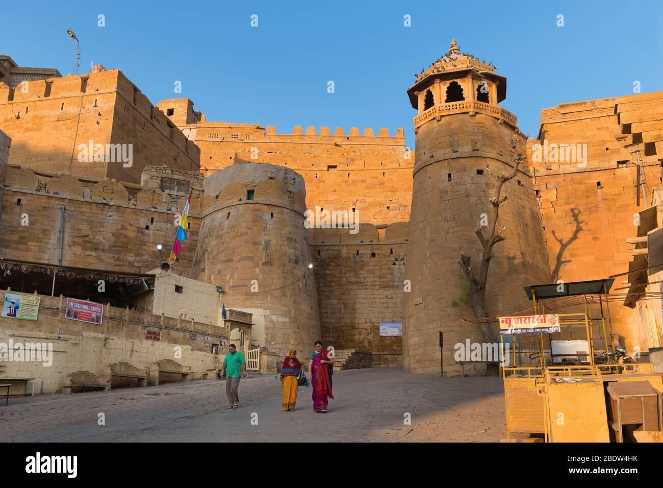 Fort de Jaisalmer Rajasthan Inde Banque D'Images