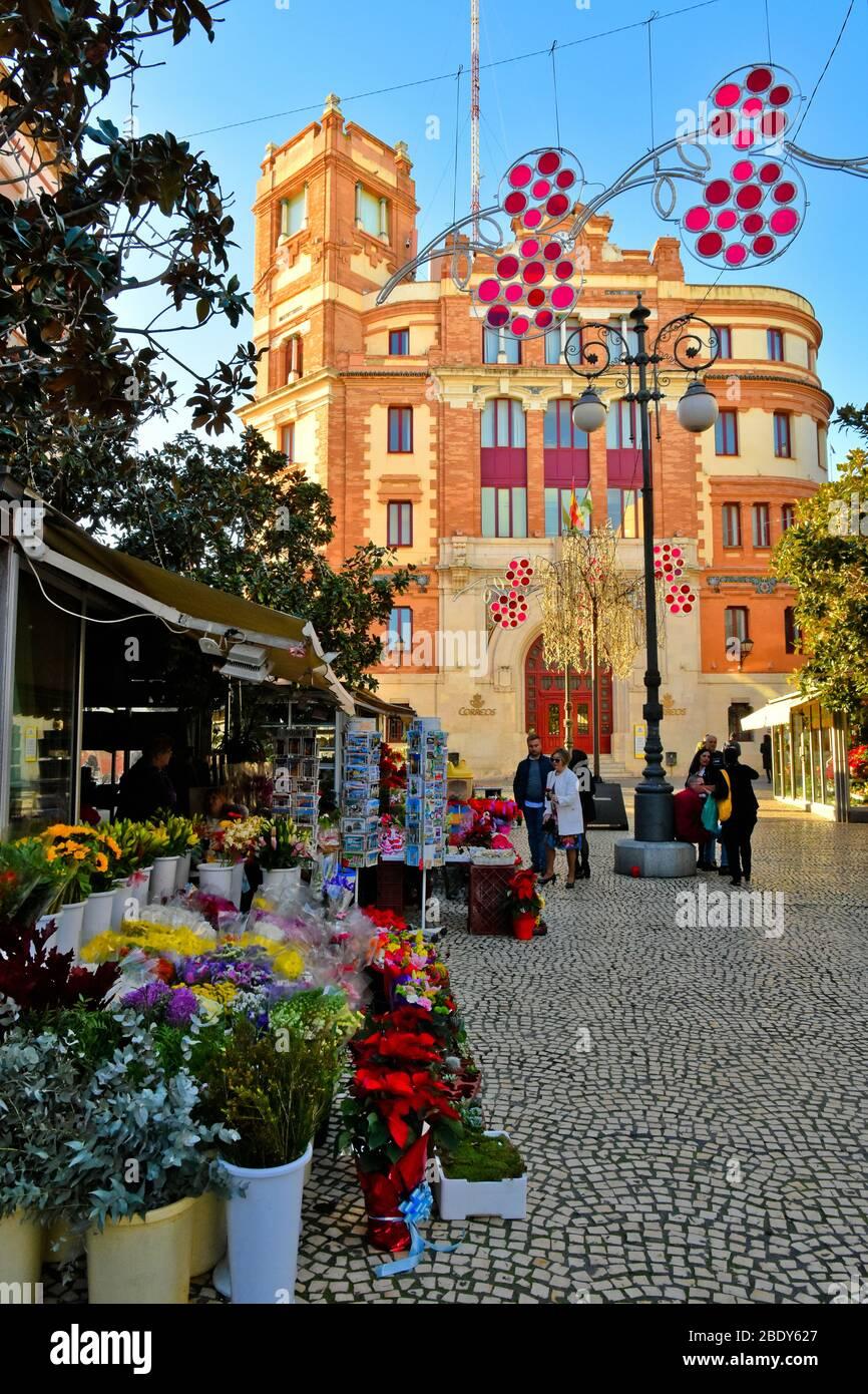 Image panoramique de Cadix, ville d'Espagne Banque D'Images