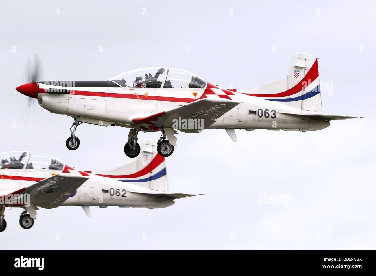 PC-9M Banque D'Images