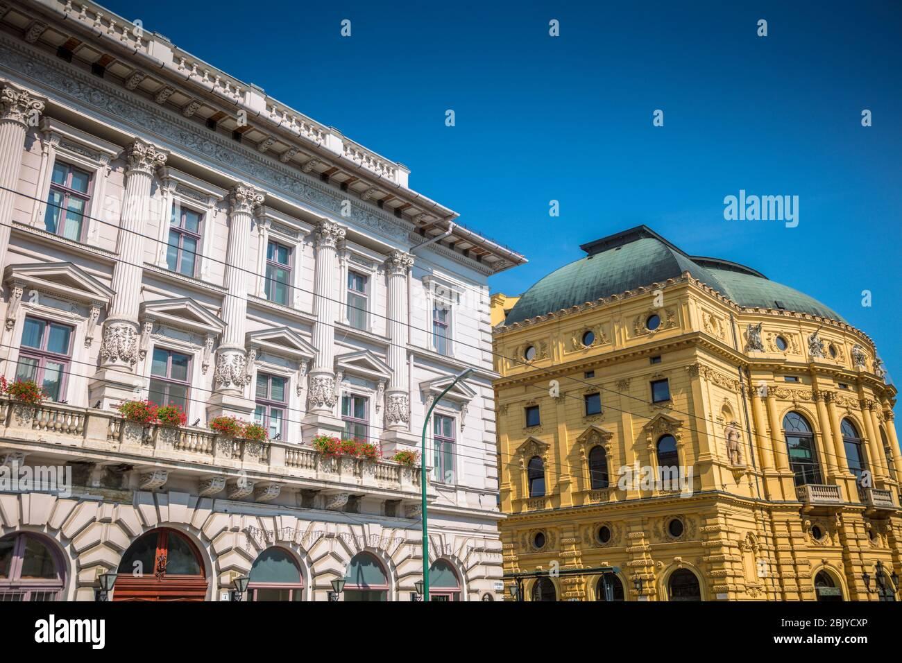 Architecture de Szeged. Szeged, Csongrad, Hongrie. Banque D'Images