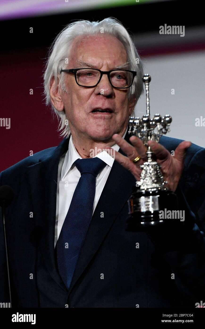 Festival International de FilmFestival de San Sebastian Banque D'Images