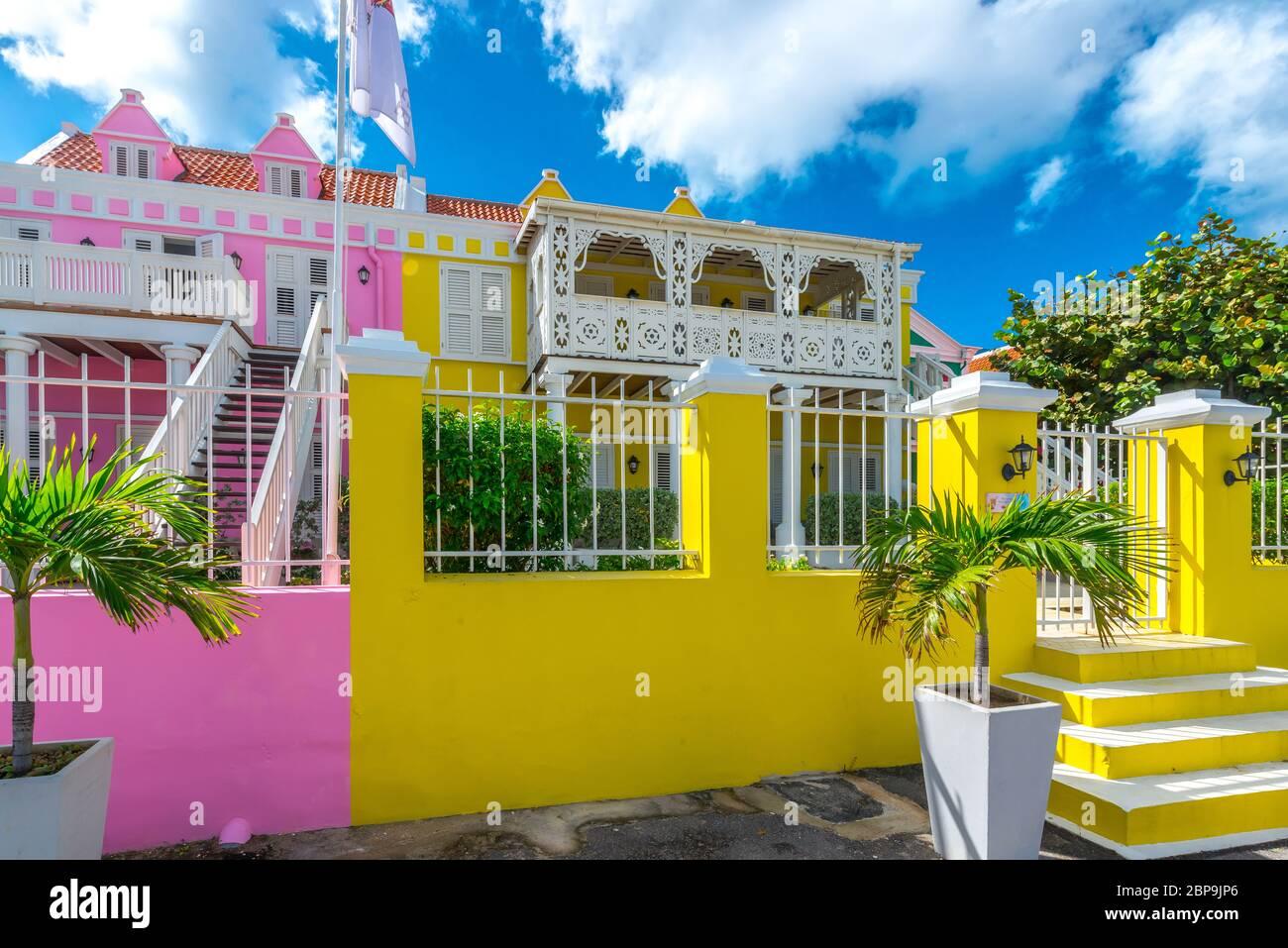 Wohnen à Curaçao Banque D'Images