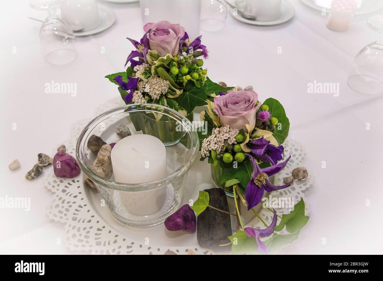 Hochzeitsstrauss / Rosen Banque D'Images