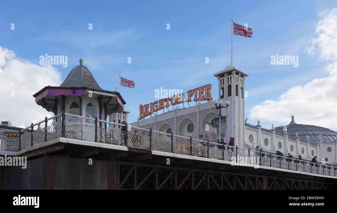 Brighton Palace Pier, Brighton, Angleterre Banque D'Images