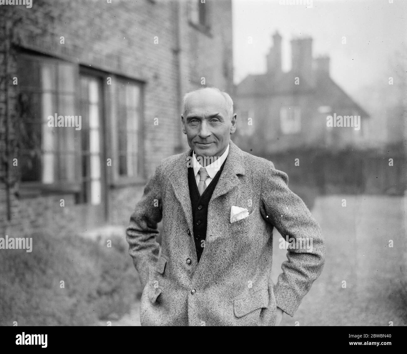 Labors champion de prélèvement sur capital à Leicester M. Pethick Lawrence , le candidat travailliste à leicester 21 novembre 1923 Banque D'Images