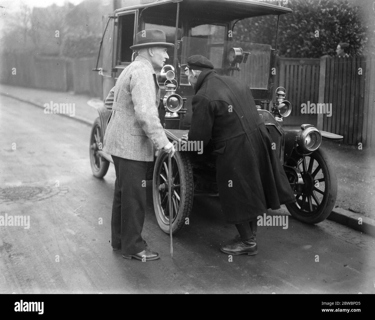Labors champion de prélèvement sur capital à Leicester M. Pethick Lawrence , le candidat travailliste pour le démarchage de leicester 21 novembre 1923 Banque D'Images