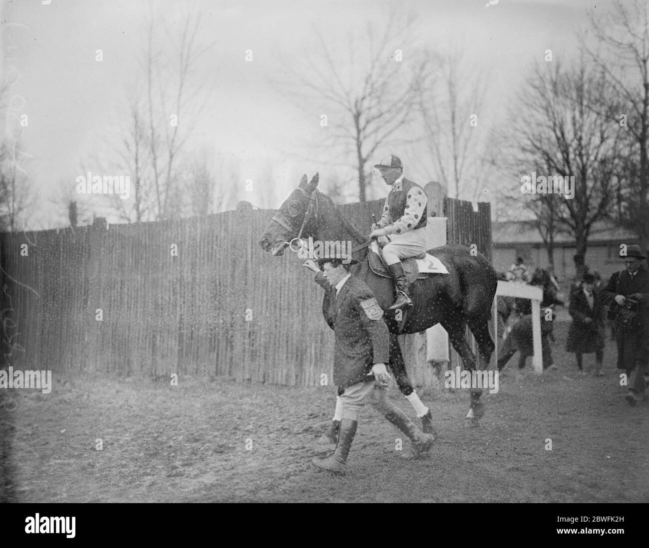Hawker , J Hogan, 29 février 1924 Banque D'Images