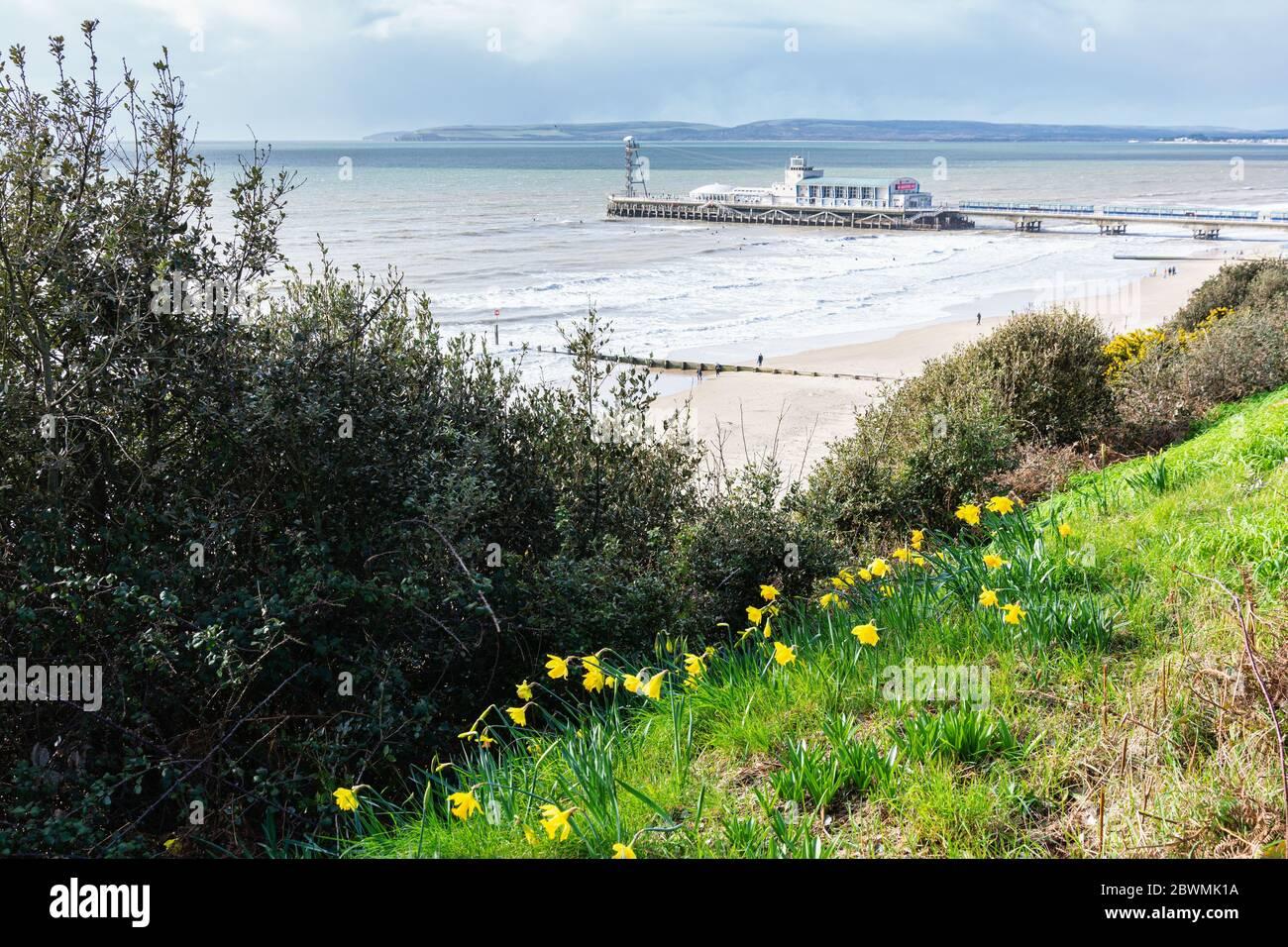 Bournemouth Pier, Dorset, Royaume-Uni Banque D'Images