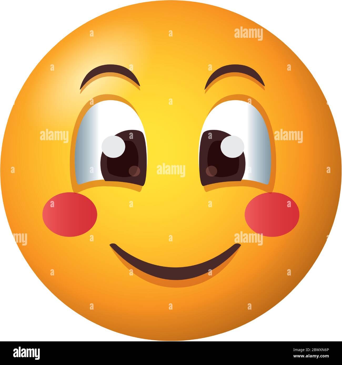 Smile Smiley Sticker Label Emoticon Banque D Image Et Photos Alamy