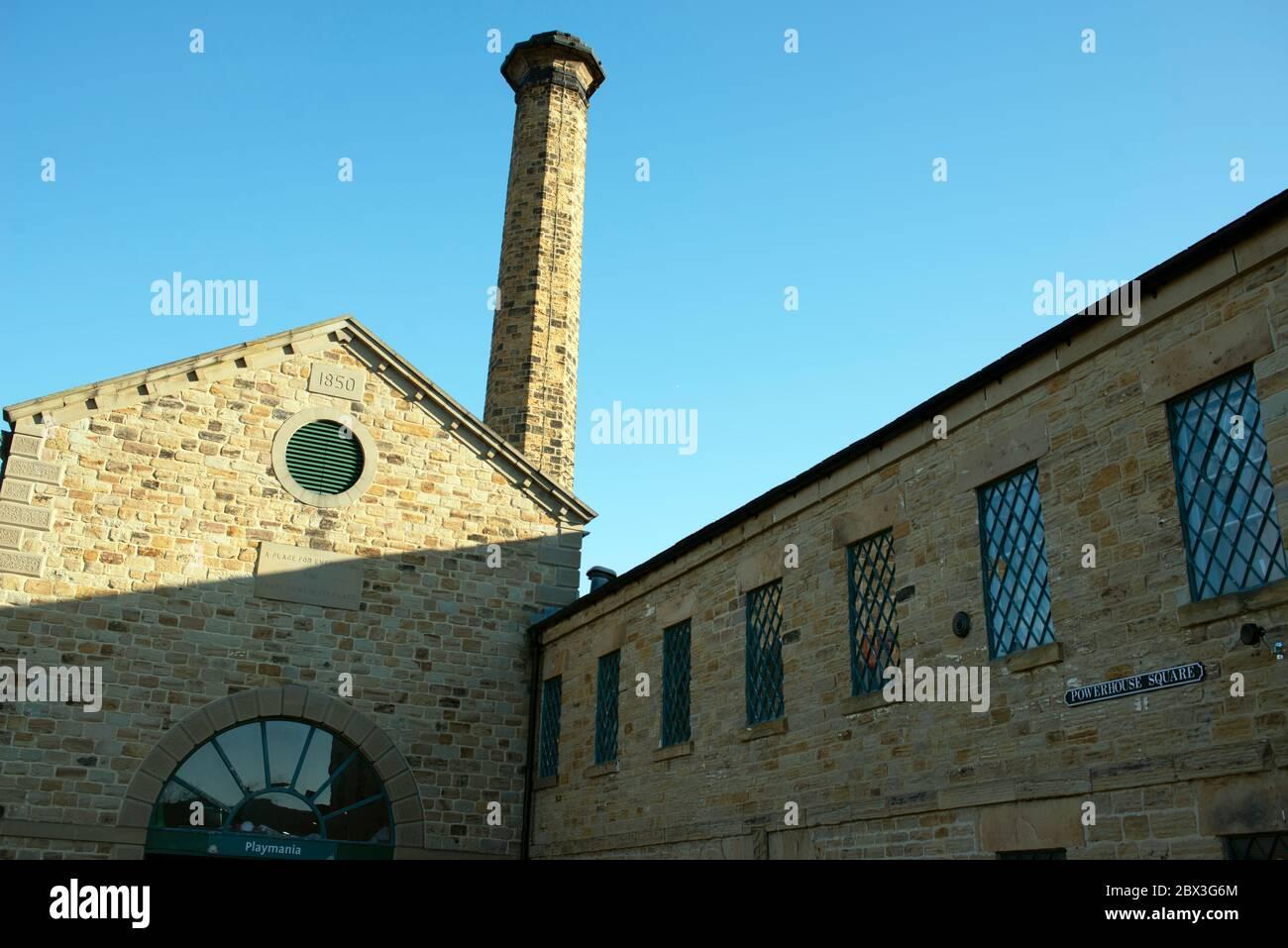 Les anciennes pièces d'art du musée Elsecar Heritage Centre, Barnsley, dans le Yorkshire du Sud, en Angleterre. Banque D'Images