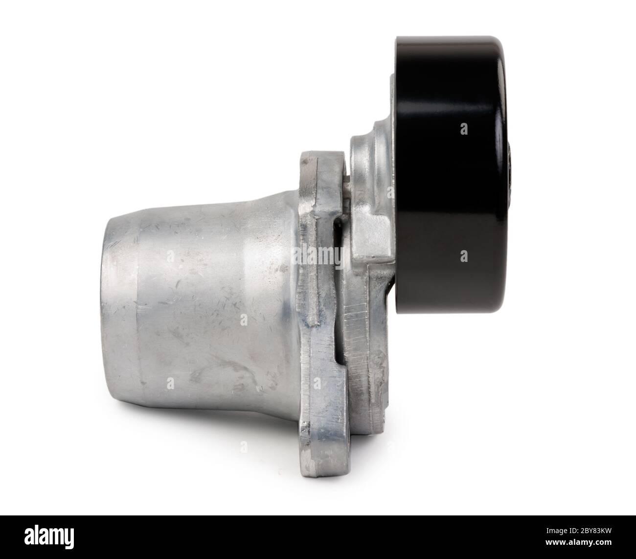 Rouleau de tension de voiture neuve Banque D'Images