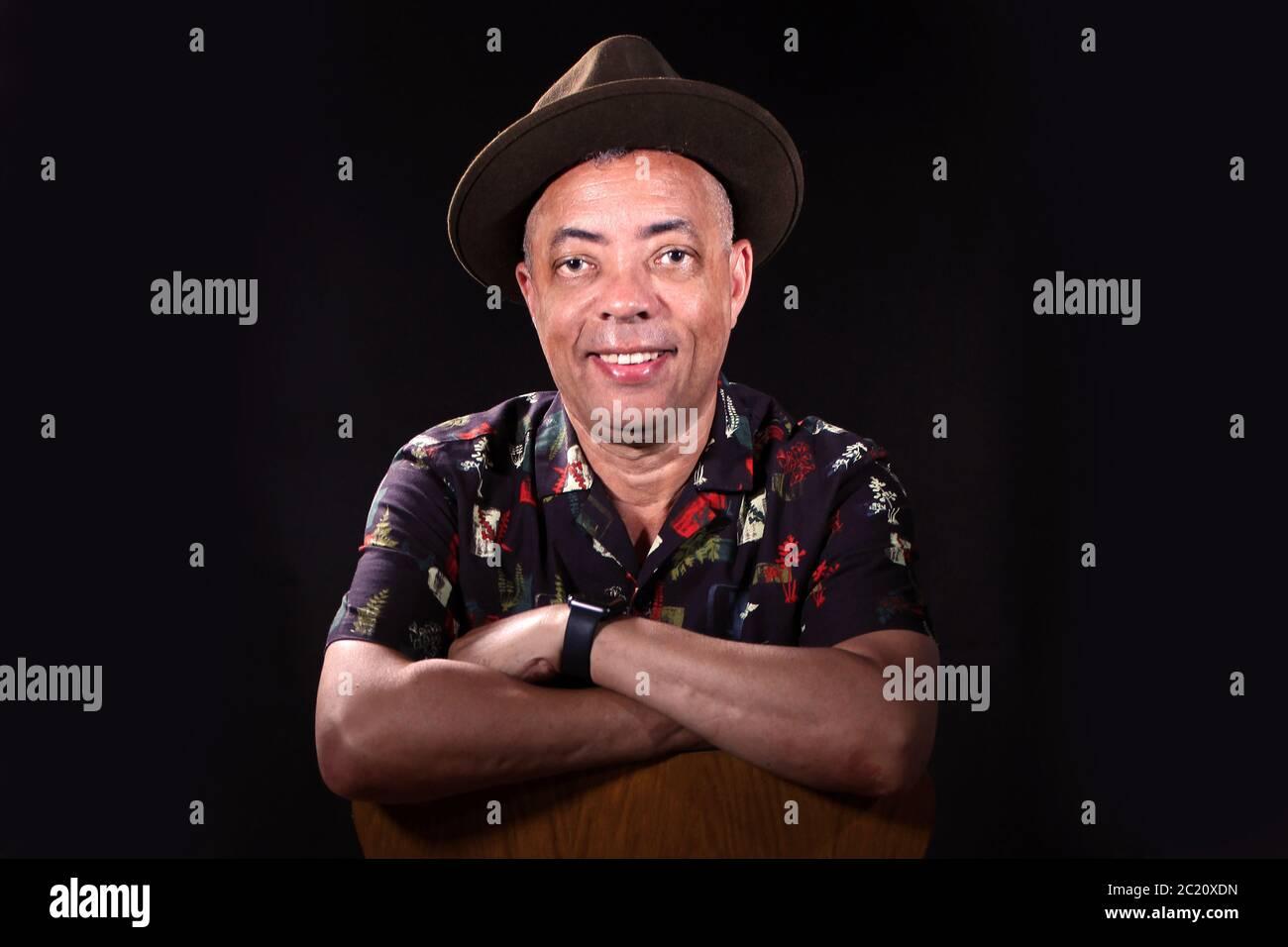 Homme noir de la Carrabien Banque D'Images