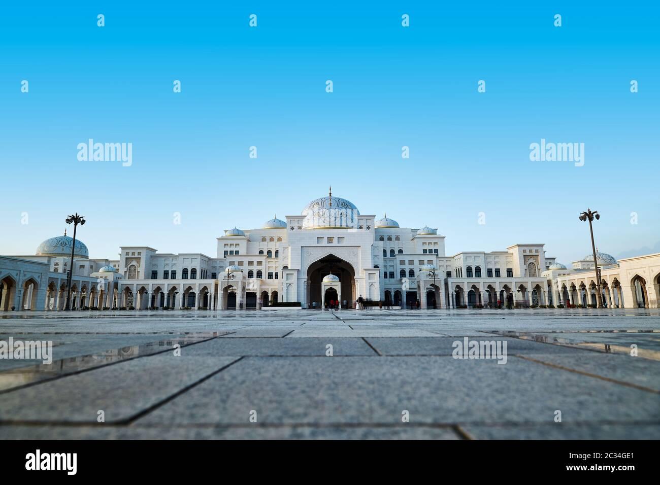 Qasr Al Watan à Abu Dhabi, Émirats Banque D'Images