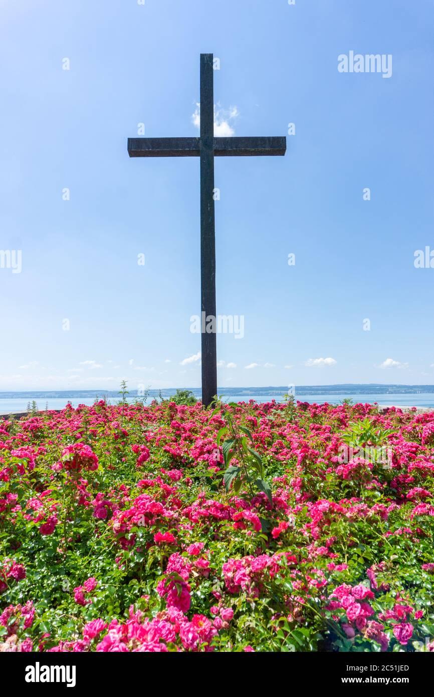 Hagnau, BW / Allemagne - 23 juin 2020 : monument historique aux soldats tombés pendant la Seconde Guerre mondiale à Hagnau, sur le lac de Constance Banque D'Images