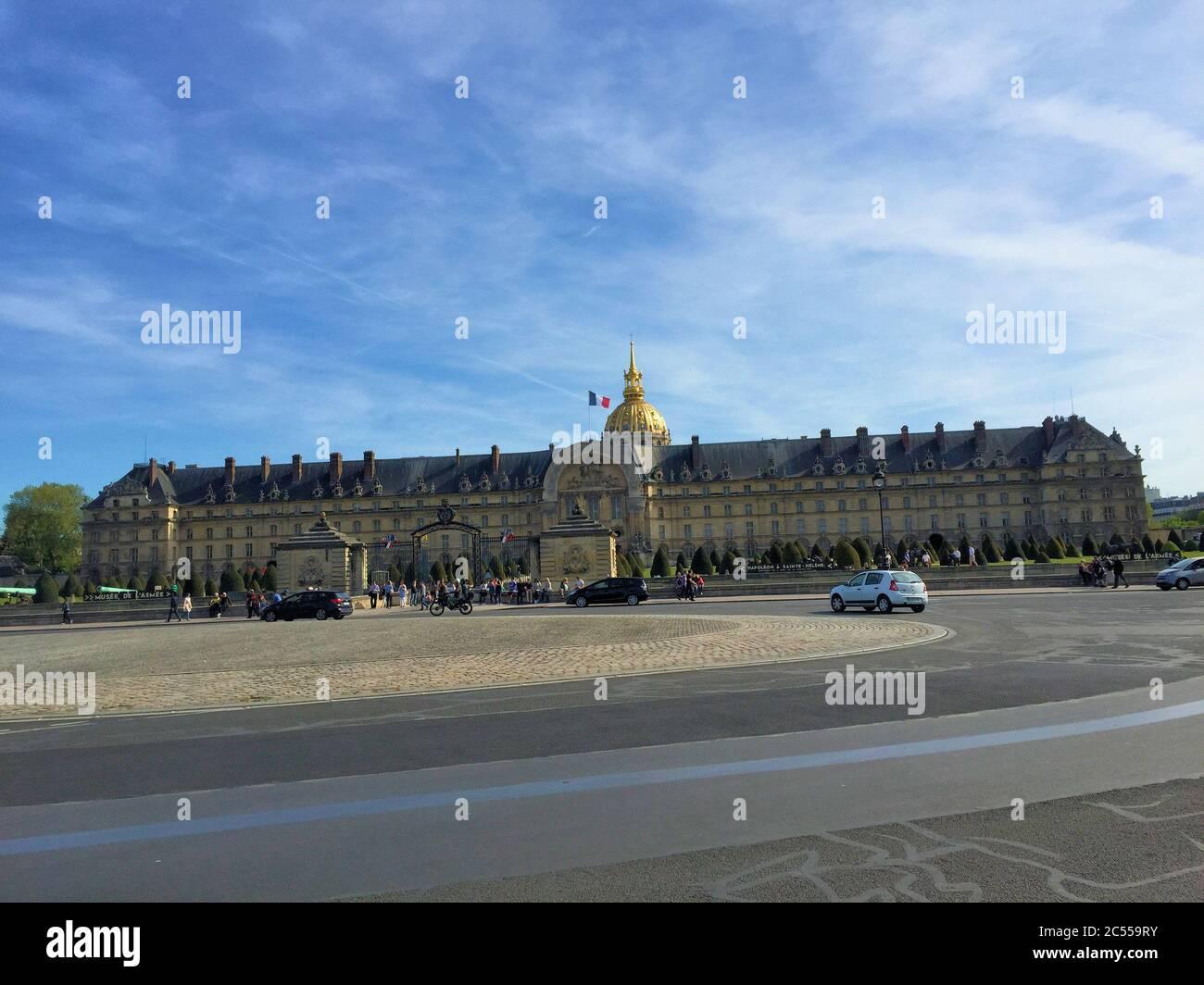 Hôtel des Invalides à Paris Banque D'Images