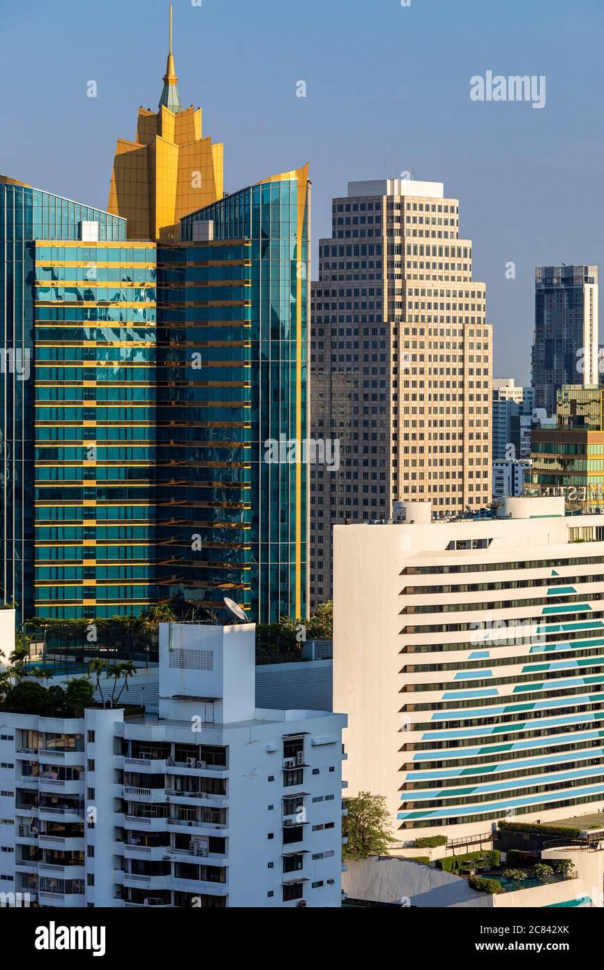 Bangkok, ville autour de Sukhumvit, Thaïlande Banque D'Images