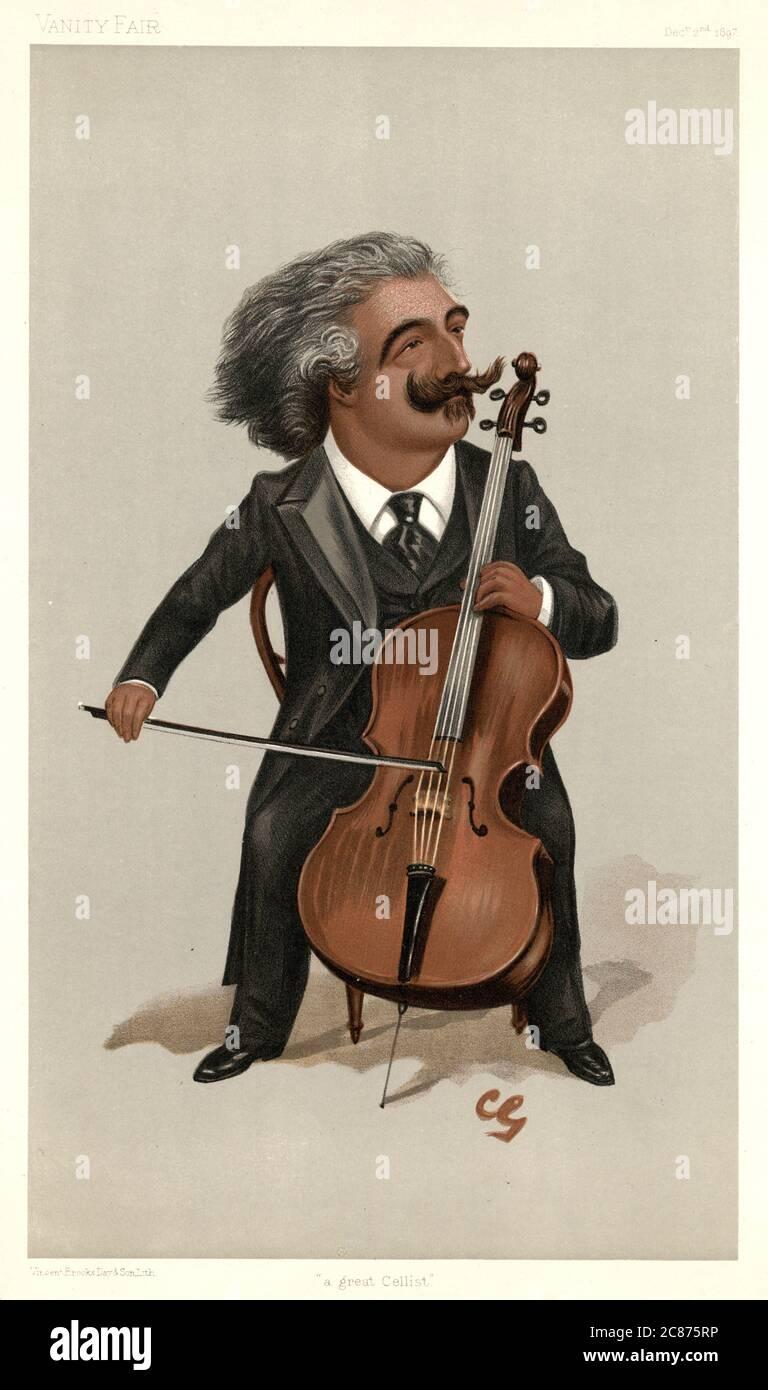 JOSEPH HOLLMAN (1743 - 1826), violoncelliste néerlandais. Date : Banque D'Images