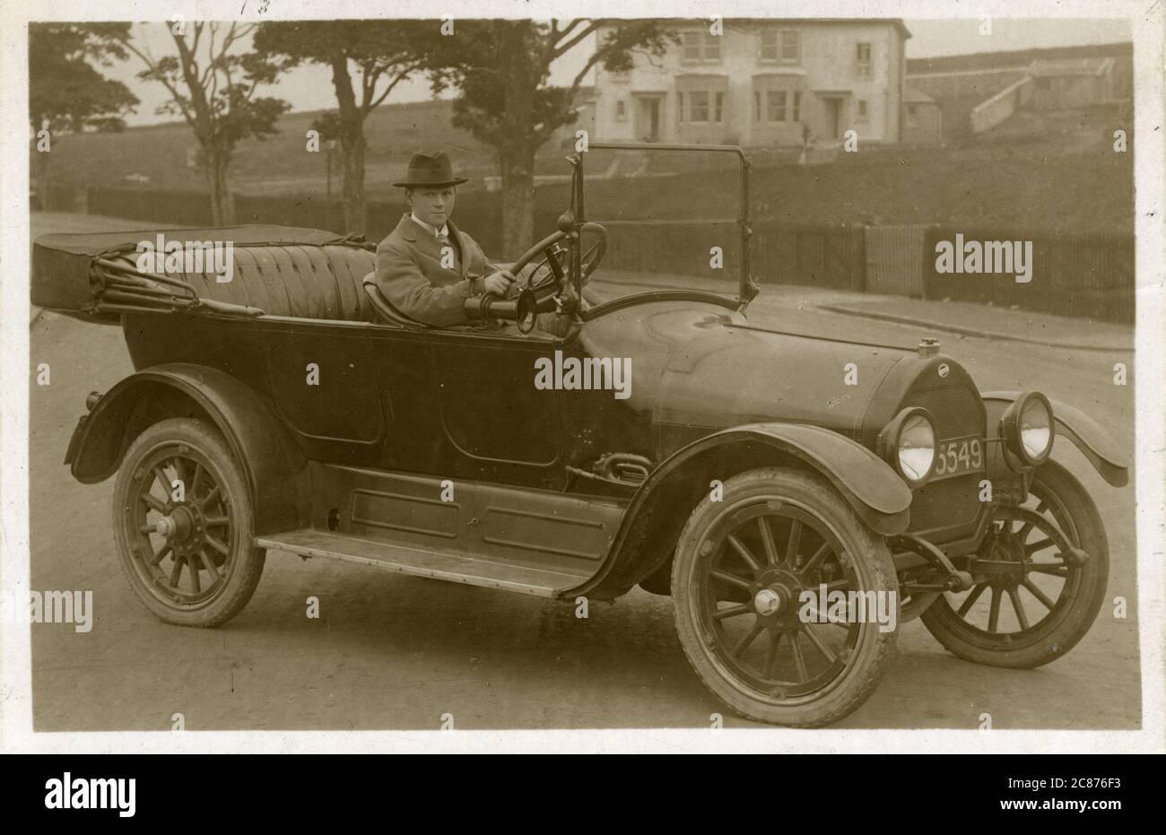 Voiture d'époque Overland. années 1920 Banque D'Images