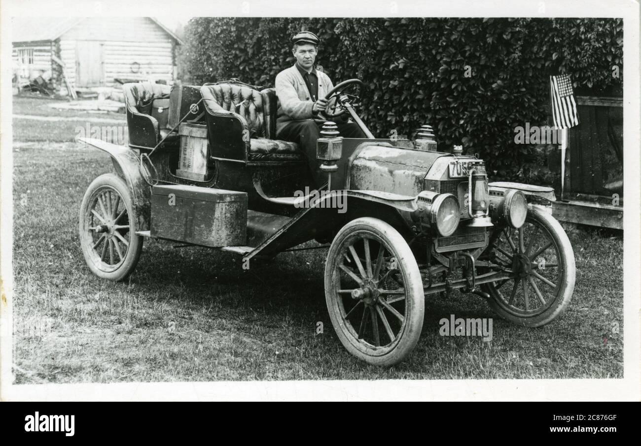 Modèle T Ford Vintage car. 1900 Banque D'Images