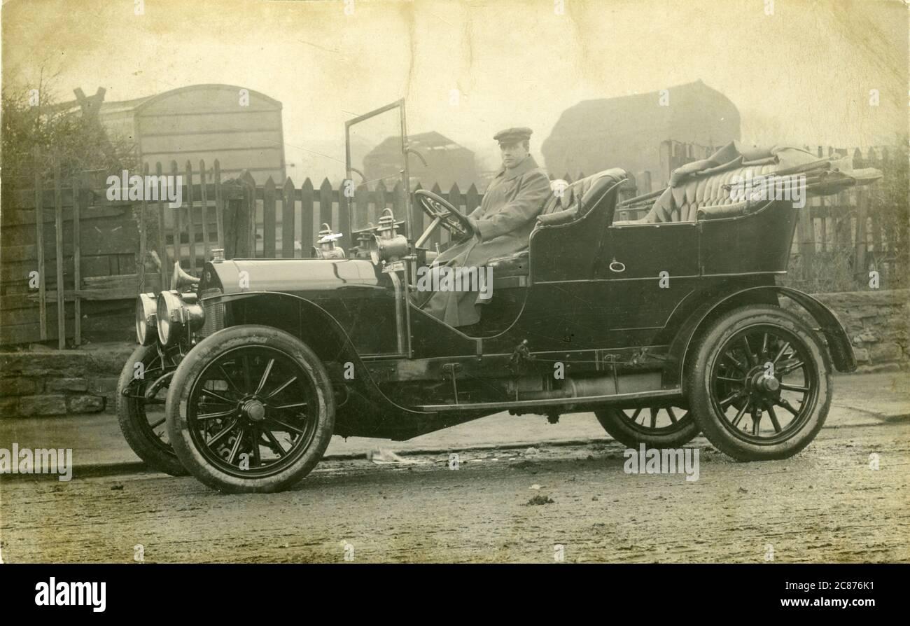 Wolseley Vintage car, Angleterre. 1910s Banque D'Images