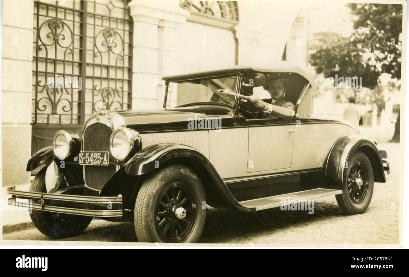 Chrysler Vintage car, États-Unis. années 1920 Banque D'Images
