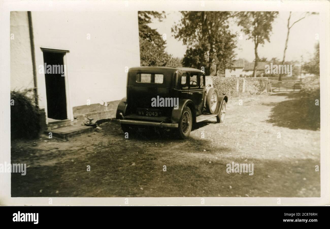 Talbot Vintage car, Londres enregistrement, Angleterre. années 1920 Banque D'Images