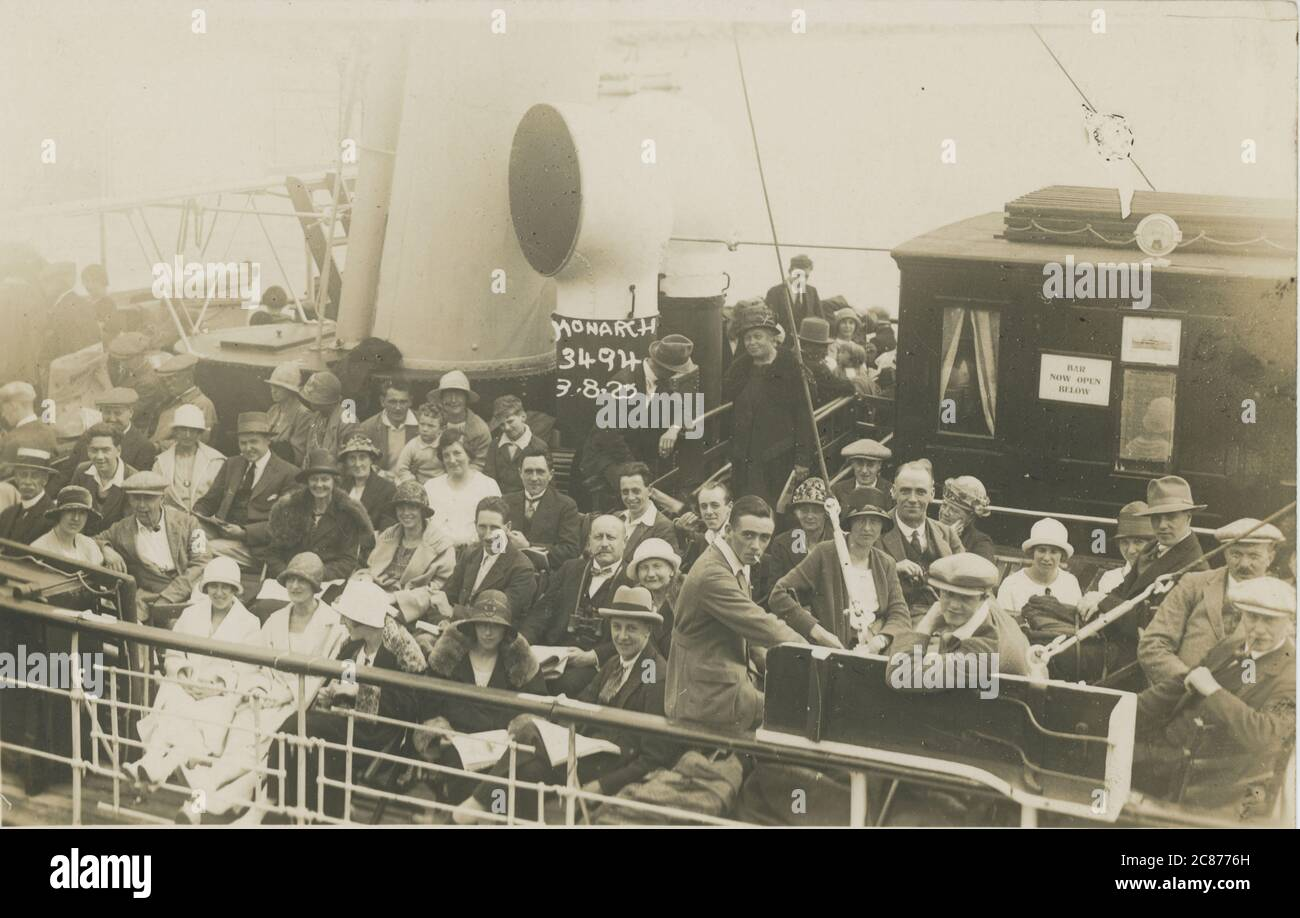 Cosens Paddle Steamer - The Monarch, Bournemouth, Dorset, Angleterre. Banque D'Images