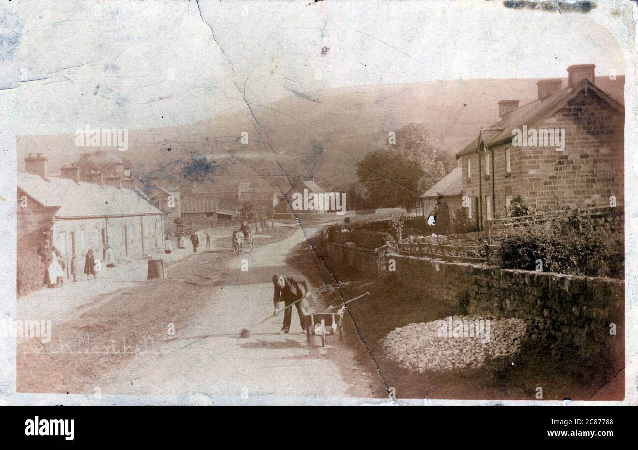 Le village, Kepwick, Thirsk, Northallerton, Yorkshire, Angleterre. Banque D'Images