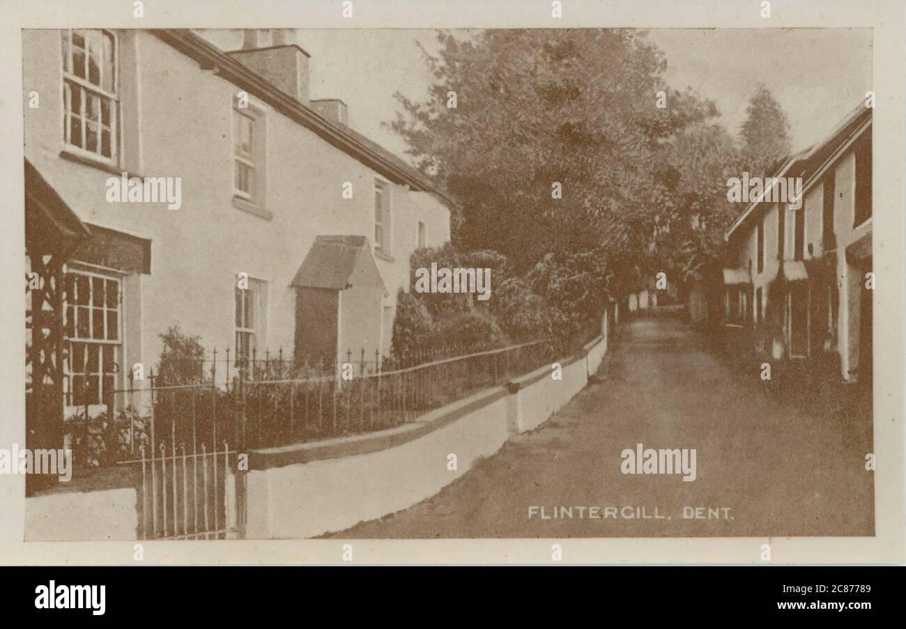 The Village, Flintergill, Dent, Sedburgh, Cumbria, Angleterre. Banque D'Images