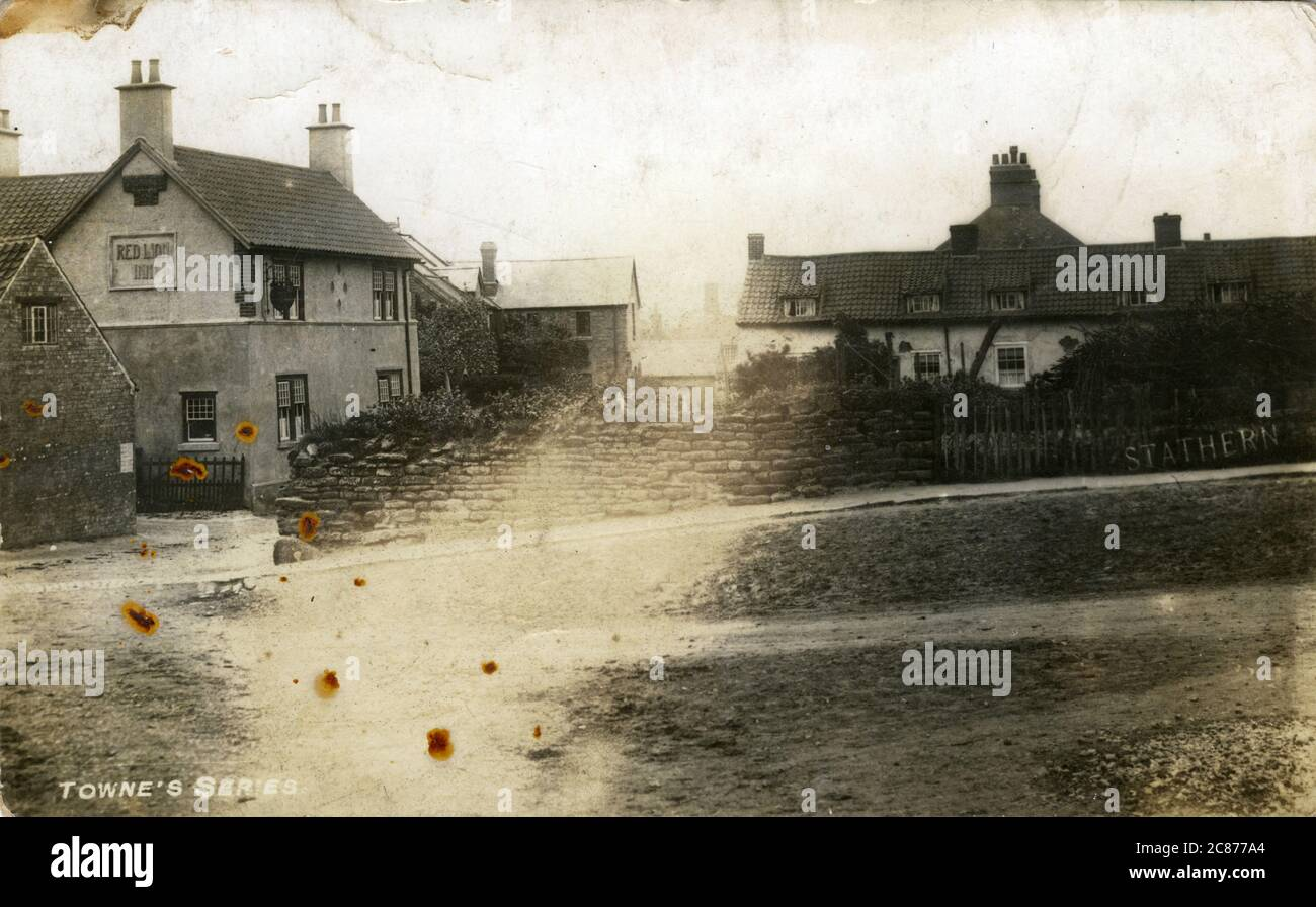 The Village, Stathern, Melton Mowbray, Leicestershire, Angleterre. Banque D'Images