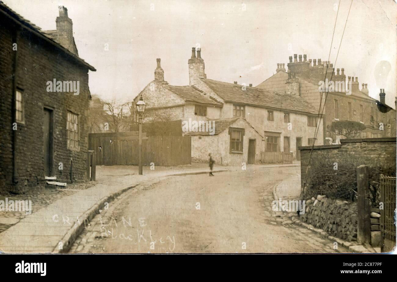 Crab Lane , Blackley, Manchester, Lancashire, Angleterre. Banque D'Images