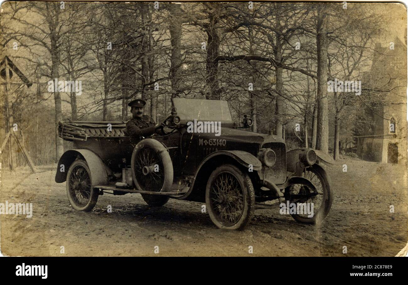 Vauxhall Vintage car, Grande-Bretagne. Banque D'Images