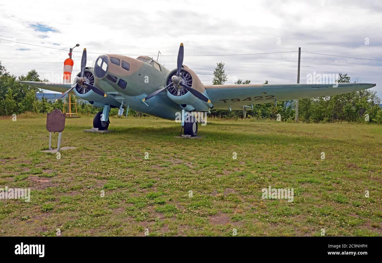 Musée de l'aviation de Gander, Terre-Neuve Banque D'Images