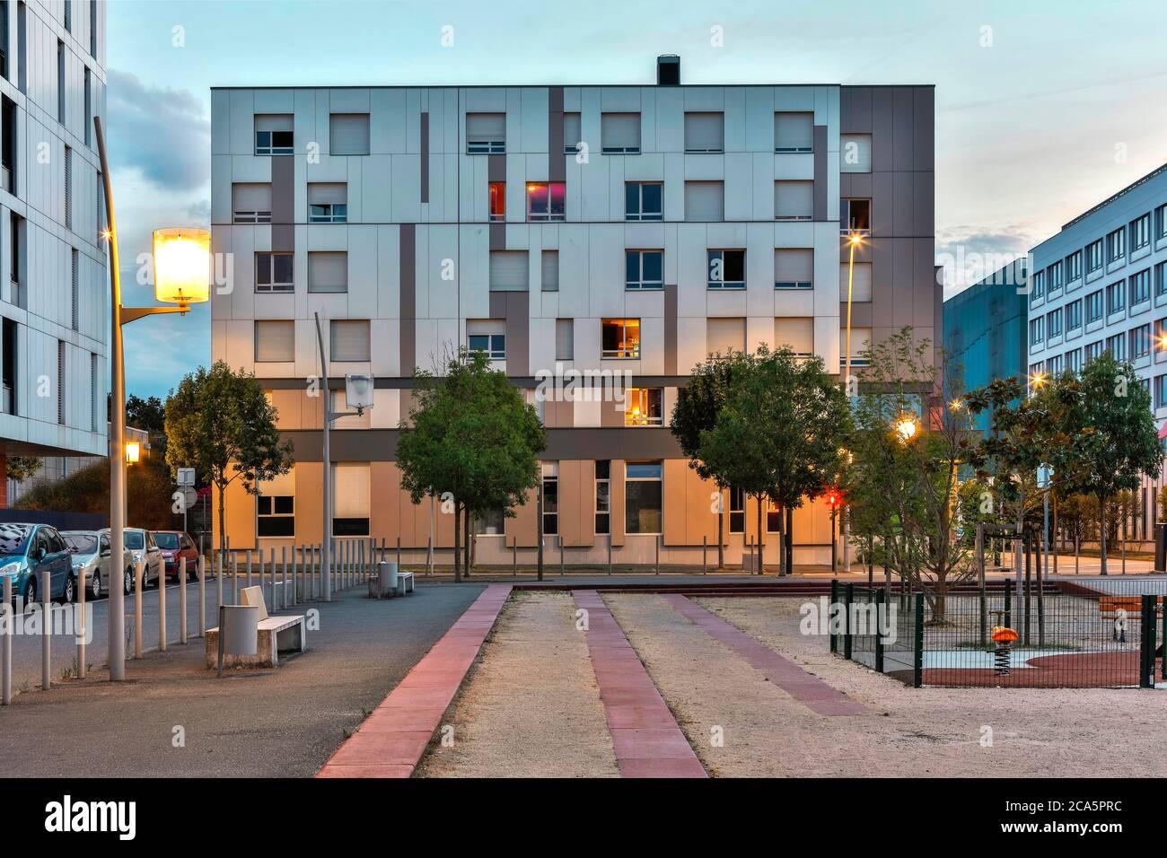 France, haute Garonne, Blagnac, foyer de Blériot, vue extérieure du bâtiment Banque D'Images