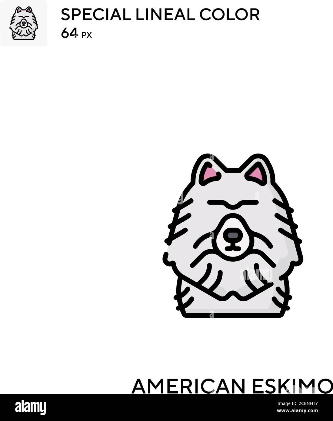 Icône de vecteur de couleur spécial eskimo américain. Icônes esquimaux américaines pour votre projet d'entreprise Illustration de Vecteur