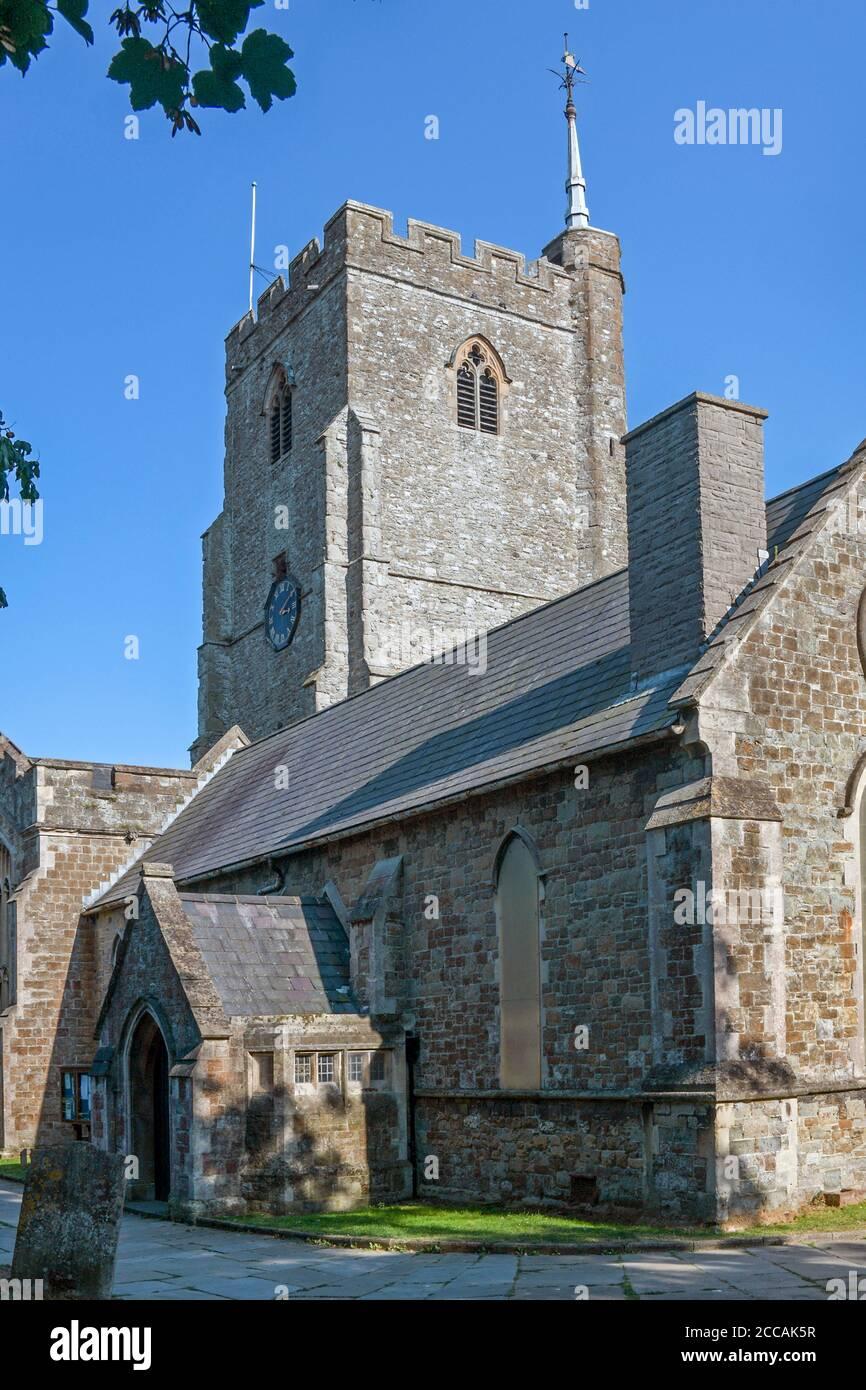 Eglise de St Mary & St Erewythe Folkestone Kent Angleterre Banque D'Images