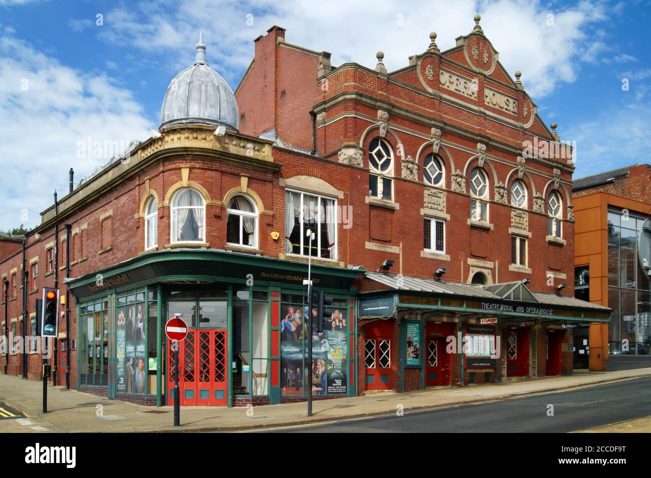 Royaume-Uni, West Yorkshire, Wakefield, Theatre Royal Banque D'Images