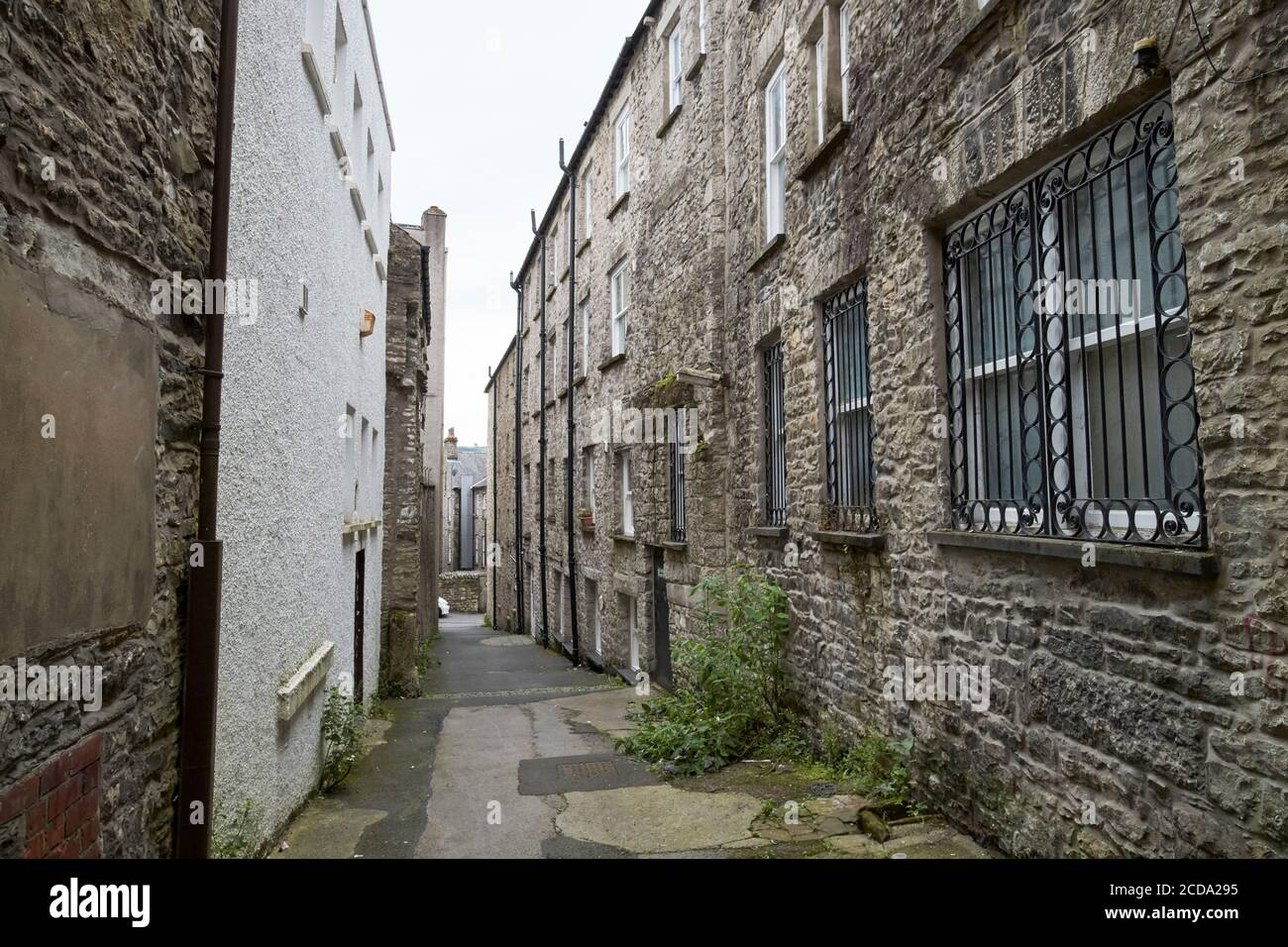 Liberty House yard Kendal cumbria angleterre royaume-uni Banque D'Images