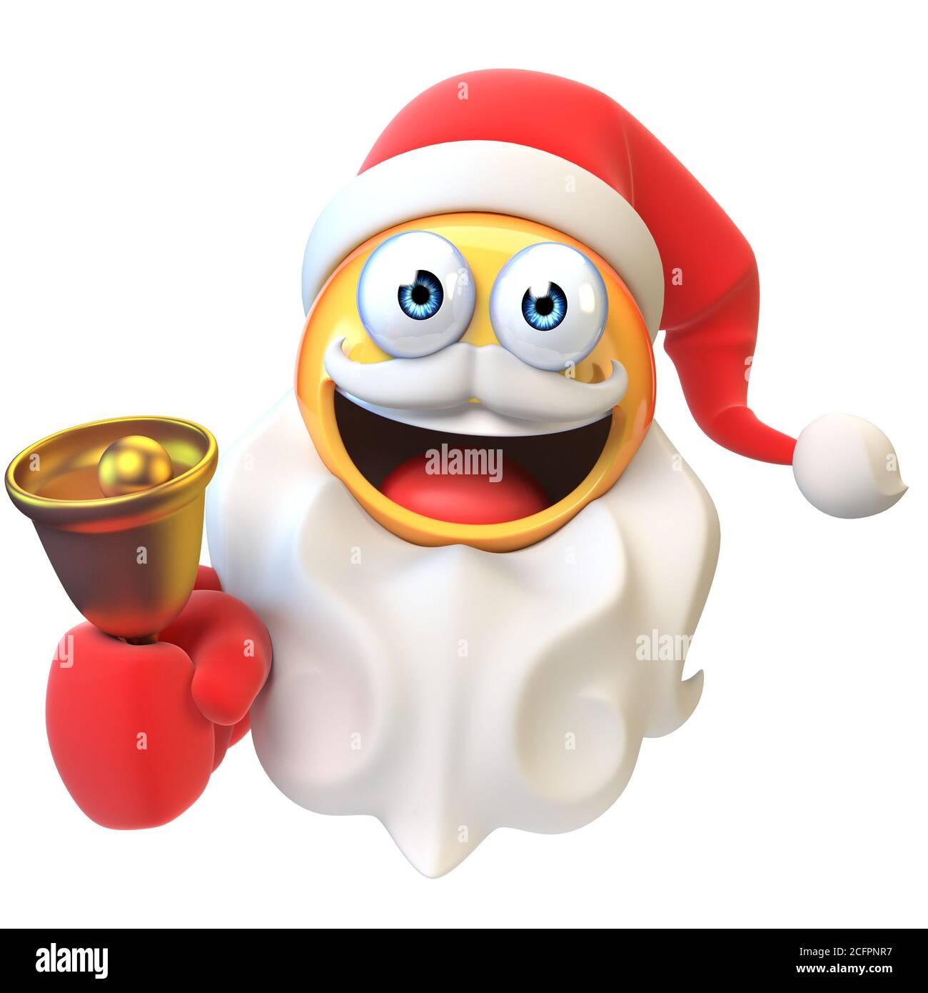 Emoticon Santa Claus Banque D Image Et Photos Alamy