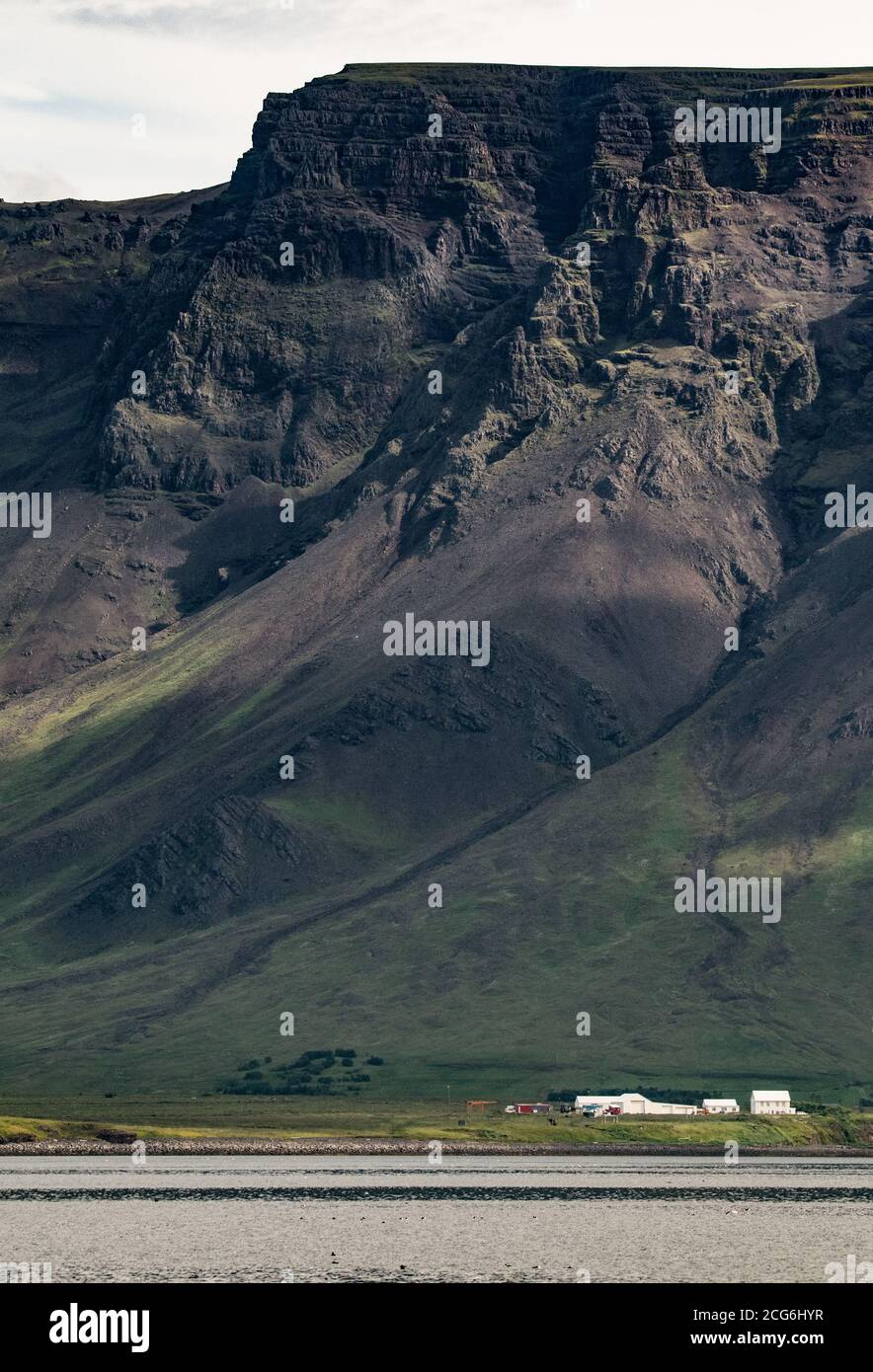 Esja montagne, Islande Banque D'Images