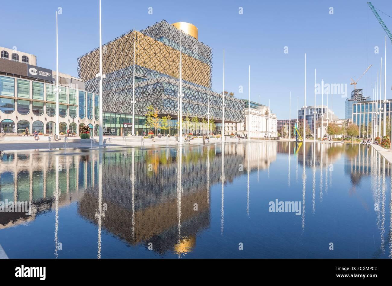 Bibliothèque de Birmingham à Centenary Square, Birmingham, Angleterre, Royaume-Uni Banque D'Images