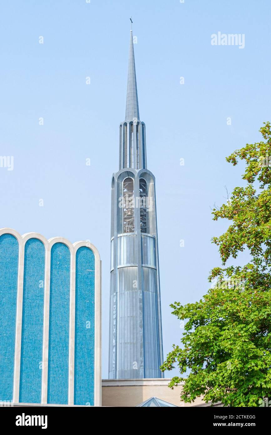 Alabama Huntsville First Baptist Church, navire à roquette en forme de steeple, Américains, Banque D'Images