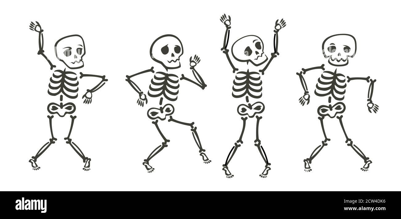 Squelette Drole Banque D Image Et Photos Alamy