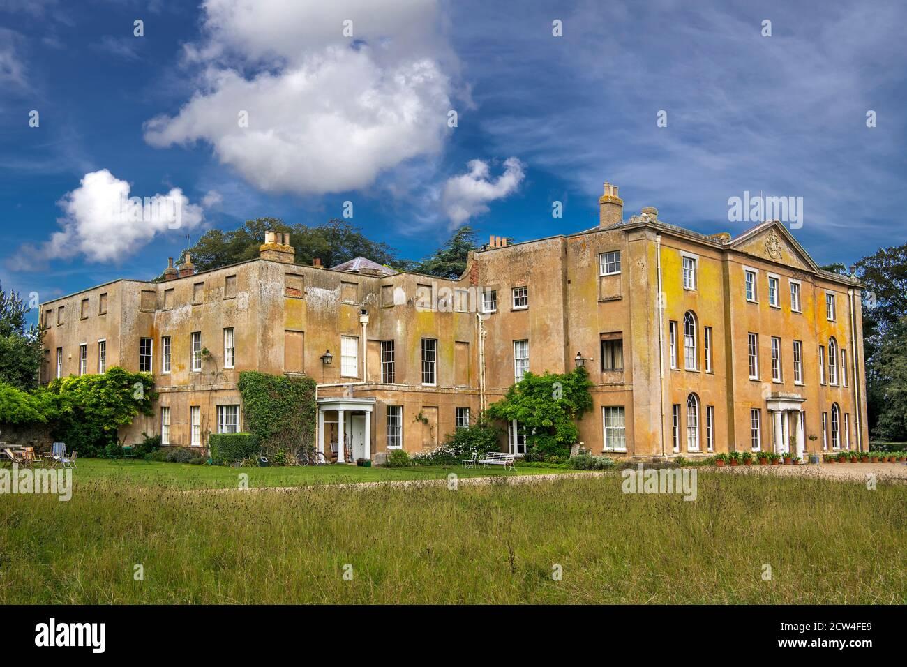Magnifique Abbey House demeure ancestrale Little Walsingham Norfolk Banque D'Images