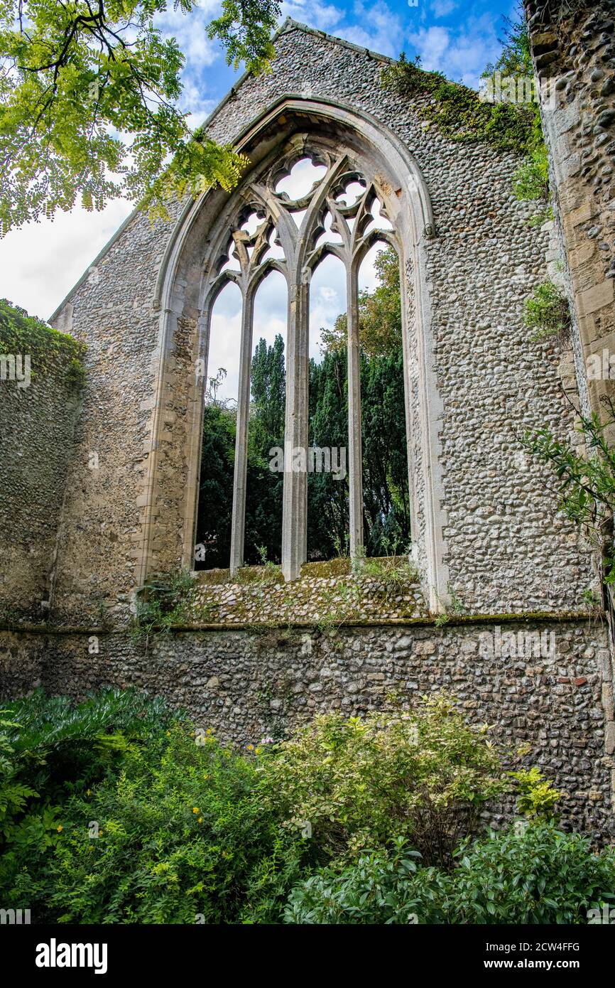 Priory demeure Little Walsingham Norfolk Angleterre Banque D'Images