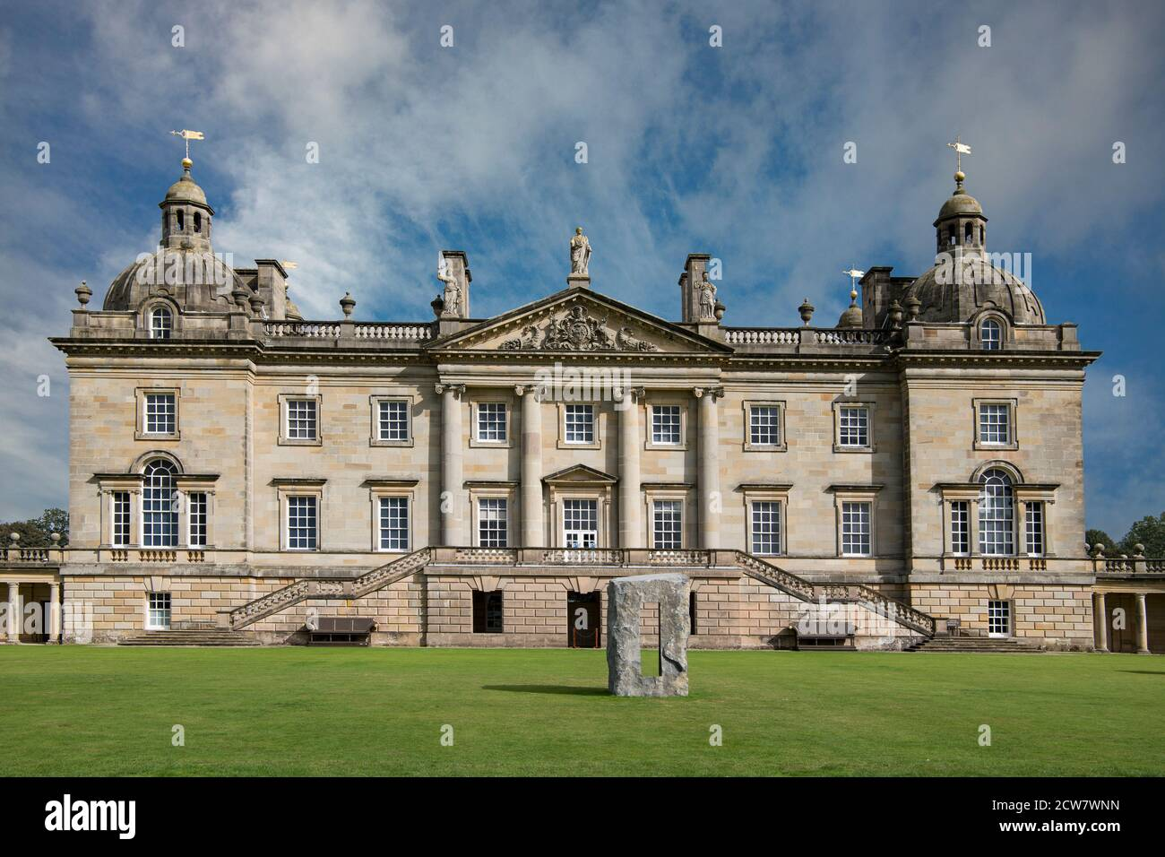 Houghton Hall North Norfolk Angleterre Banque D'Images