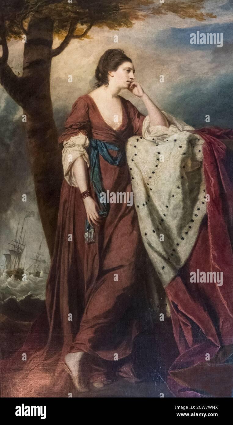 Mary Duchesse d'Ancaster par Sir Joshua Reynolds Banque D'Images