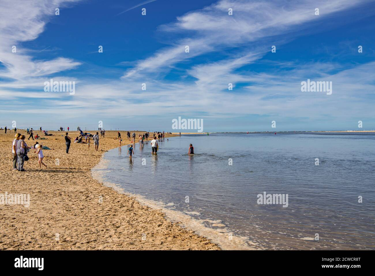 Wells Next The Sea Beach North Norfolk Angleterre Banque D'Images